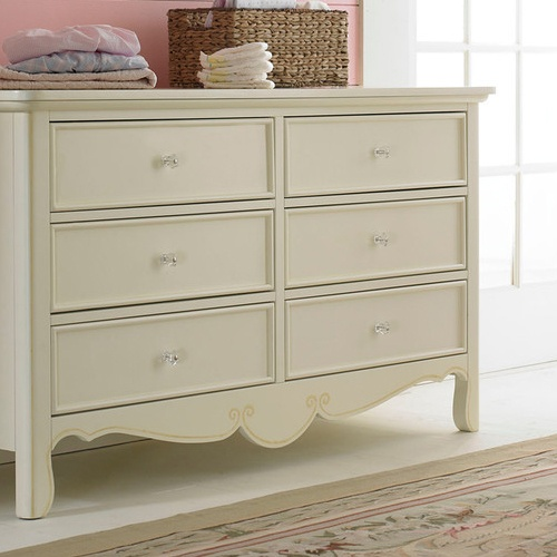 Good Bonavita Francais Collection Double Dresser Sweet Cream With Combo Changing Table