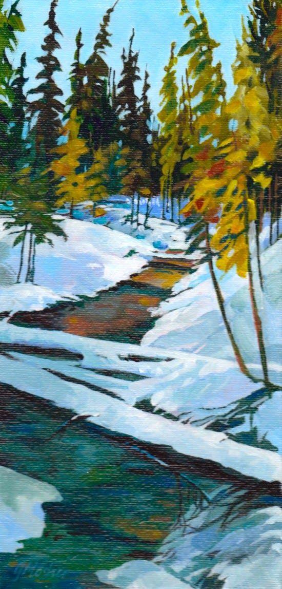 """Glenda Mosher """"Where the Creek Runs Through"""""""