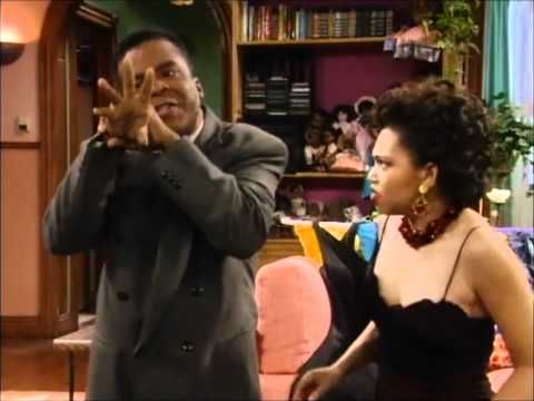Martin Lawrence Show - Rev Leon Lonnie praying with Gina.