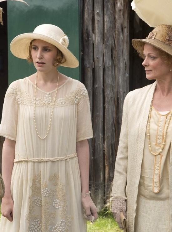 Lady Edith and Rosamund