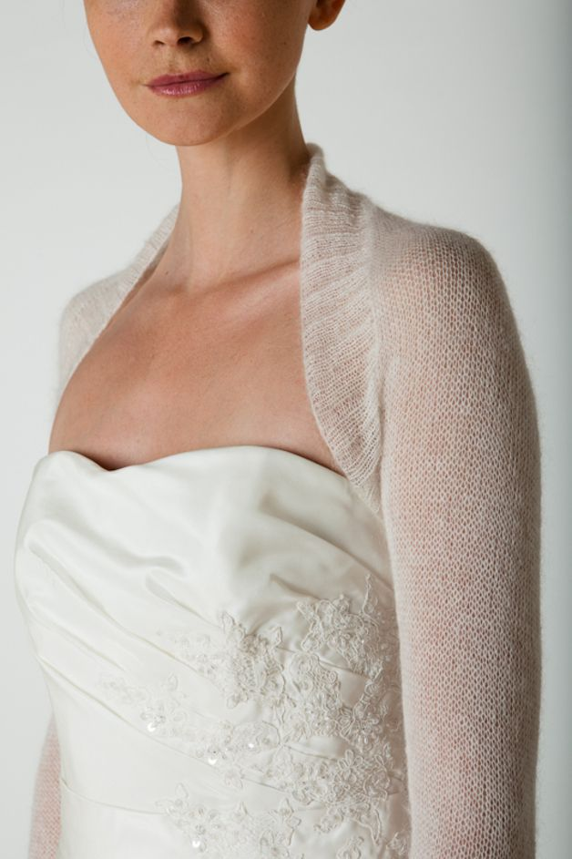 Knitting Tutorials – Knitting Pattern Bolero knitted in ...