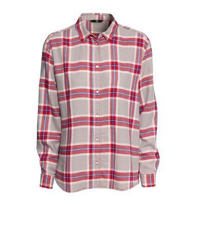 Honey | H&M Flannel Shirt $10 (60% off)