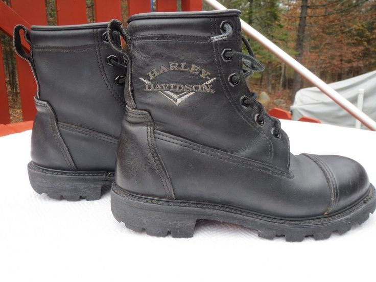 http://motorcyclespareparts.net/harley-davidson-boots-mens-size-7-12-black-motorcycle-excellent-condition/HARLEY DAVIDSON BOOTS Men's Size 7 1/2  Black Motorcycle  Excellent Condition!