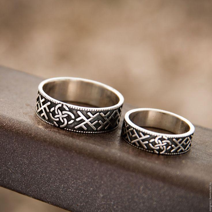 Купить Свадебник - серебряный, кольцо, обручальные кольца, славянские кольца, свадьба, Свадебник, свадебные кольца