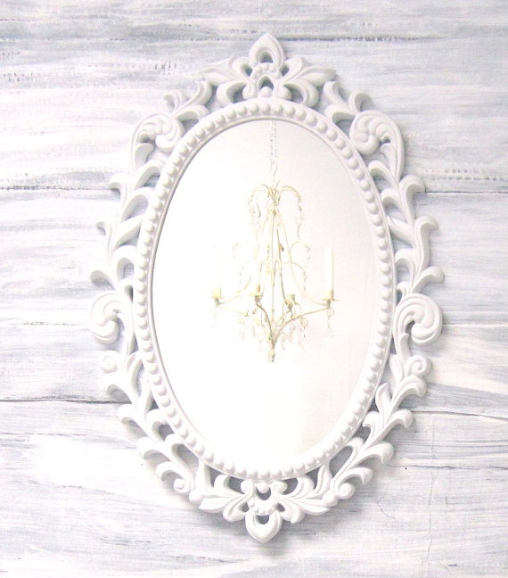 White hollywood regency mirror for sale decor wall mirror for Fancy wall mirrors for sale