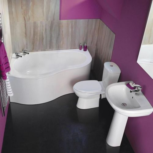 Bathroom Ideas Corner Bath 30 best purple bathroom ideas images on pinterest | purple