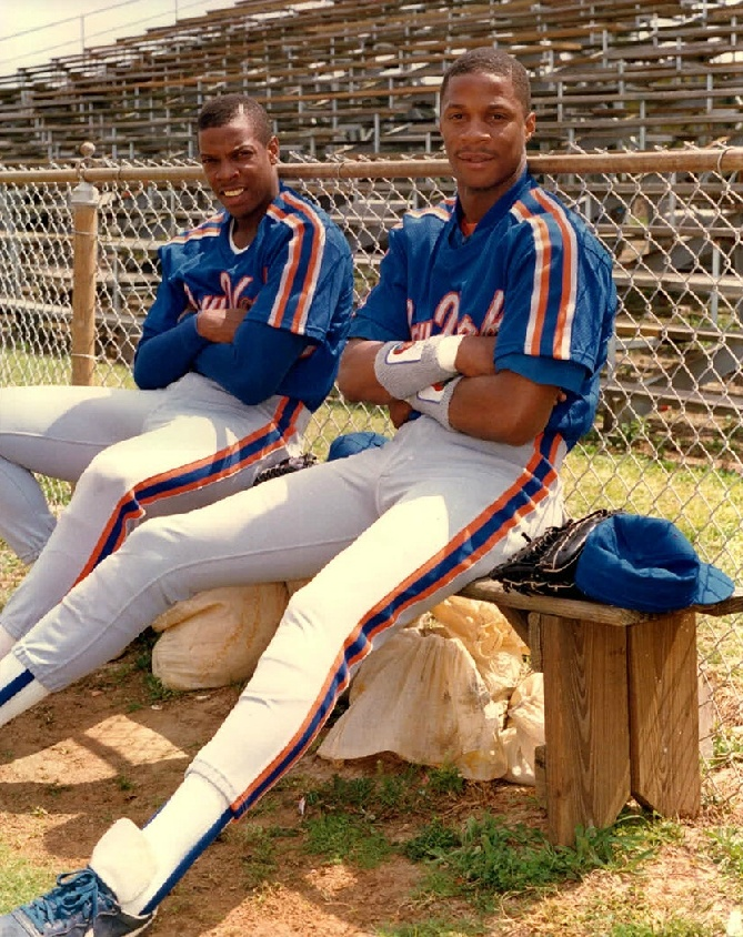 Dwight Gooden and Darryl Strawberry - NY Mets