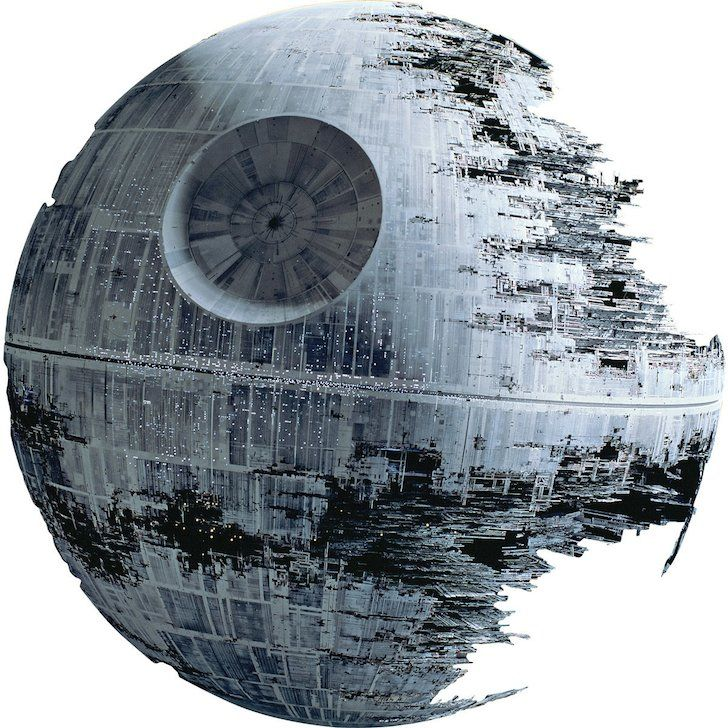 #Lego have completed a giant #DeathStar using 650,000 individual bricks for a new #StarWars exhibition at Windsor..