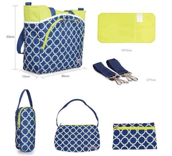 Mummy Diaper Bag Maternity Baby Kids Diaper Mat Pad Travel Handbags Tote Messenger Bags Organizer bolsas de bebe maternidade