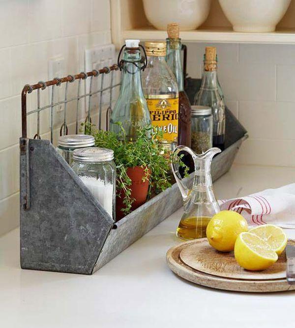 Kitchen Bar Counter Decor: 107 Best Images About Kitchen Counter Decor On Pinterest