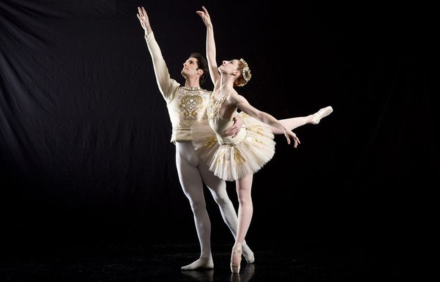 Utah's Ballet West's Beau Pearson and Christiana Bennett will perform in Diamonds. Its one of three acts in the upcoming production of  Jewels, by famed choreographer George Balanchine. Courtesy of Erik Ostling