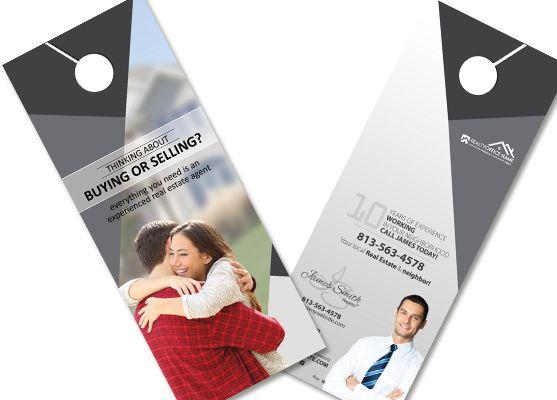 Best Real Estate Door Hangers Images On   Door Hanger