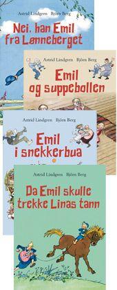 Emil fra Lønneberget bokpakke fra Bokklubben. Om denne nettbutikken: http://nettbutikknytt.no/bokklubben-no/