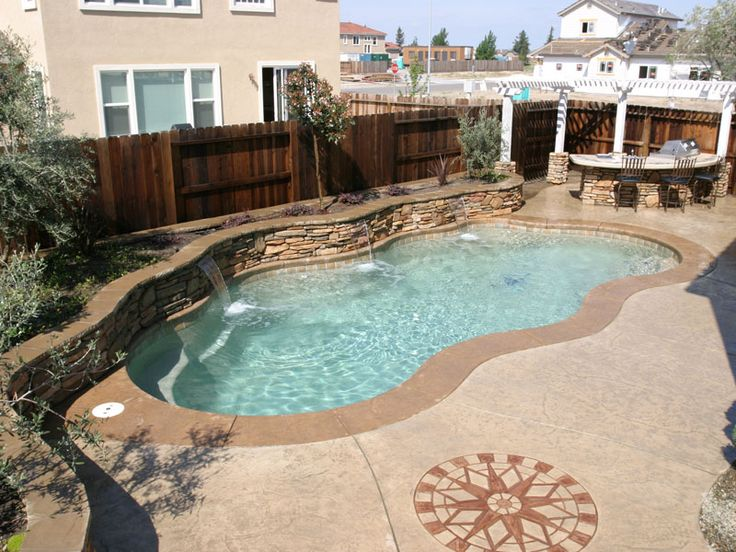 top 25+ best fiberglass inground pools ideas on pinterest