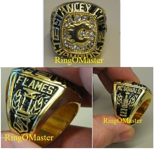 Calgary Flames 1989 Stanley Cup Championship Ring