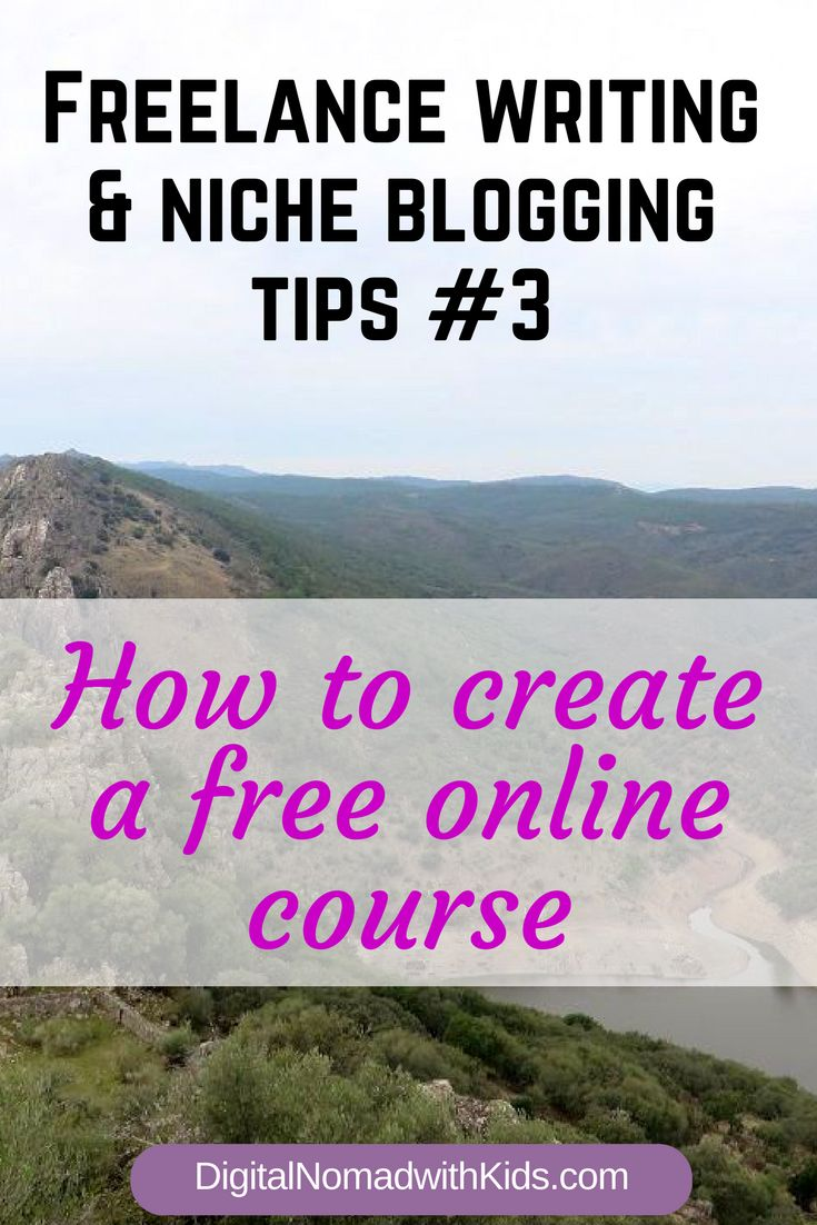 Tips & tricks for creating your own free email course | the perfect way for building your email list | niche blogging