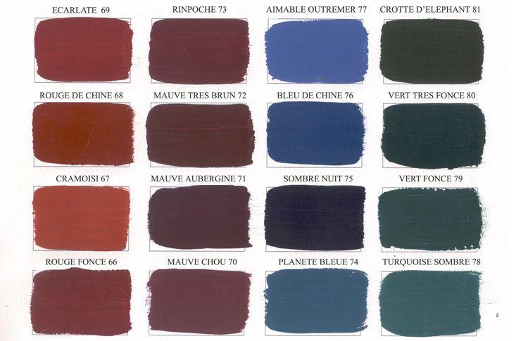 Emery cie fr quoi peintures peinture mate for Peinture colours nuancier