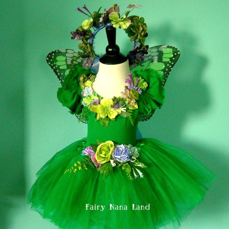 Fairy Costume - Woodland Faerie -