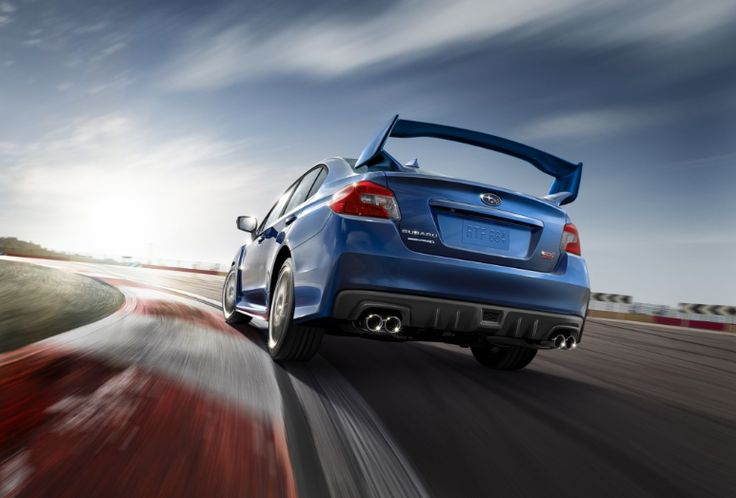 It's Official: The NEW 2015 #Subaru WRX STI Is Revealed With A MEANER new look & 305bhp engine to back it up! For full pics and awesome video...click on the image