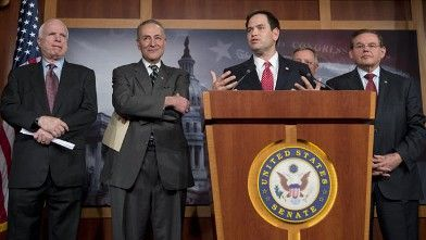 Senate Democrats and Republicans Put Forth a Worthless Immigration Agreement
