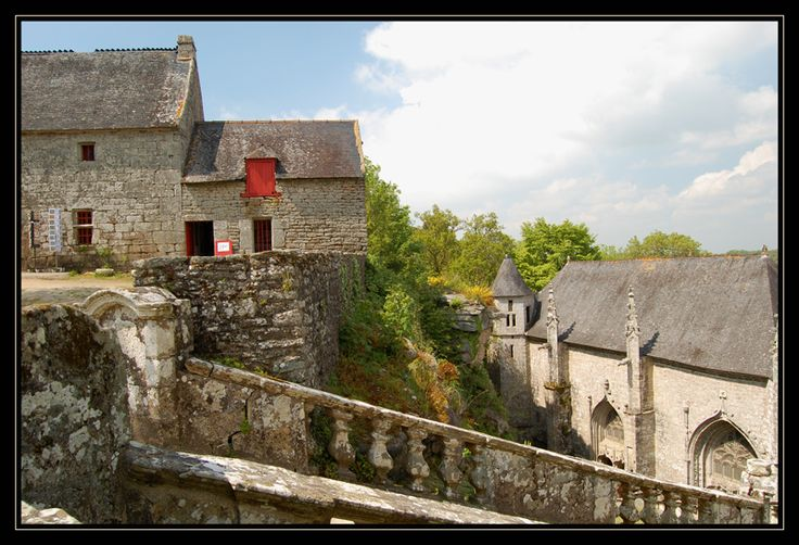 La chapelle Ste-Barbe - Le Faouet, Bretagne