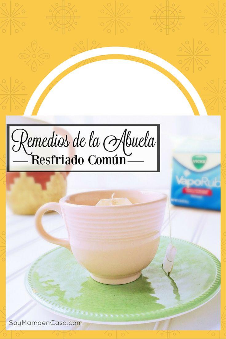 Algunos remedios de la abuela para atender el resfriado común #VapoLove AD