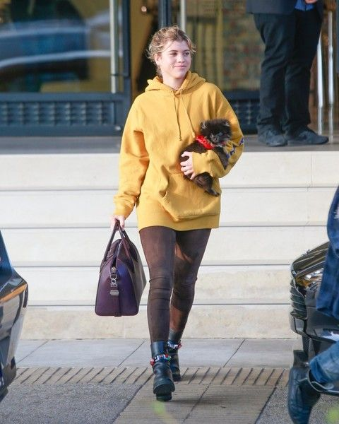 Sofia Richie Photos Photos - Model Sofia Richie and Moises Arias do some shopping together at Barney's New York on December 13, 2016. - Sofia Richie and Moises Arias Shop in Beverly Hills