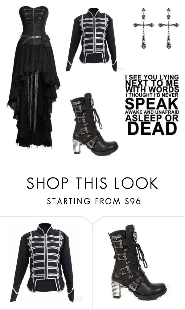 """the black parade 2"" by ziadvil on Polyvore featuring Thomas Sabo"