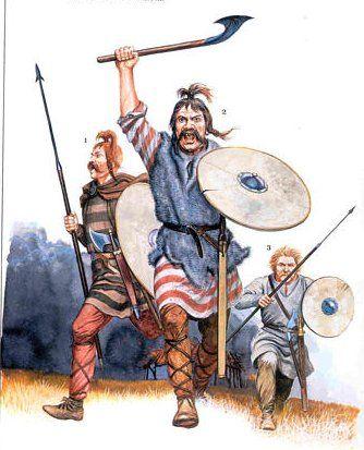 Echoes of monstrosities of germanic warrior society