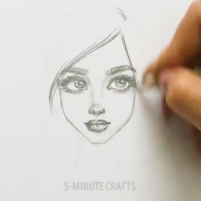 5 Minut Crafts On Instagram How To Draw Faces For Beginners