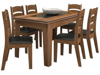 Conjunto de Mesa 6 Cadeiras - Madri Celta Móveis com as melhores condições você encontra no Magazine Precoliquidacao. Confira!