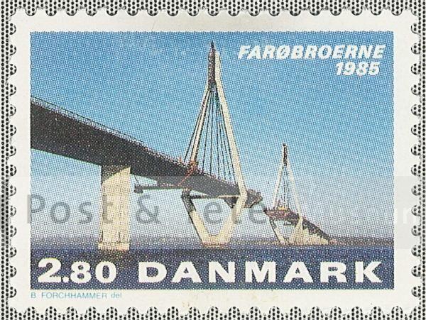 Farøbroerne. Udgivelsesdato: 1985-05-21.  Post & Tele Museum Frimærker | frimaerker.ptt-museum.dk