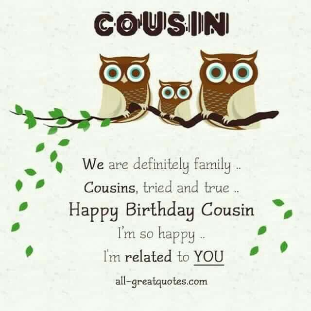 Best 25+ Cousin Birthday Quotes Ideas On Pinterest