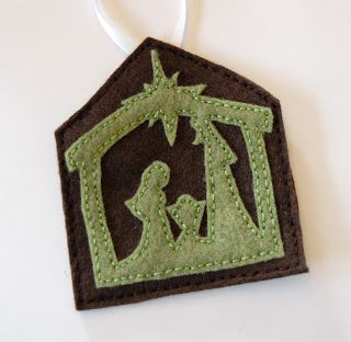 """""""C"""" is for Crafty: Felt Jesse Tree Ornaments Continued--part 2"""