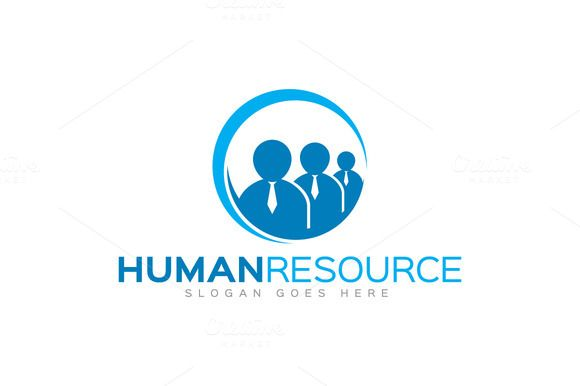 Check out Human Resource Logo by LogoLabs on Creative Market