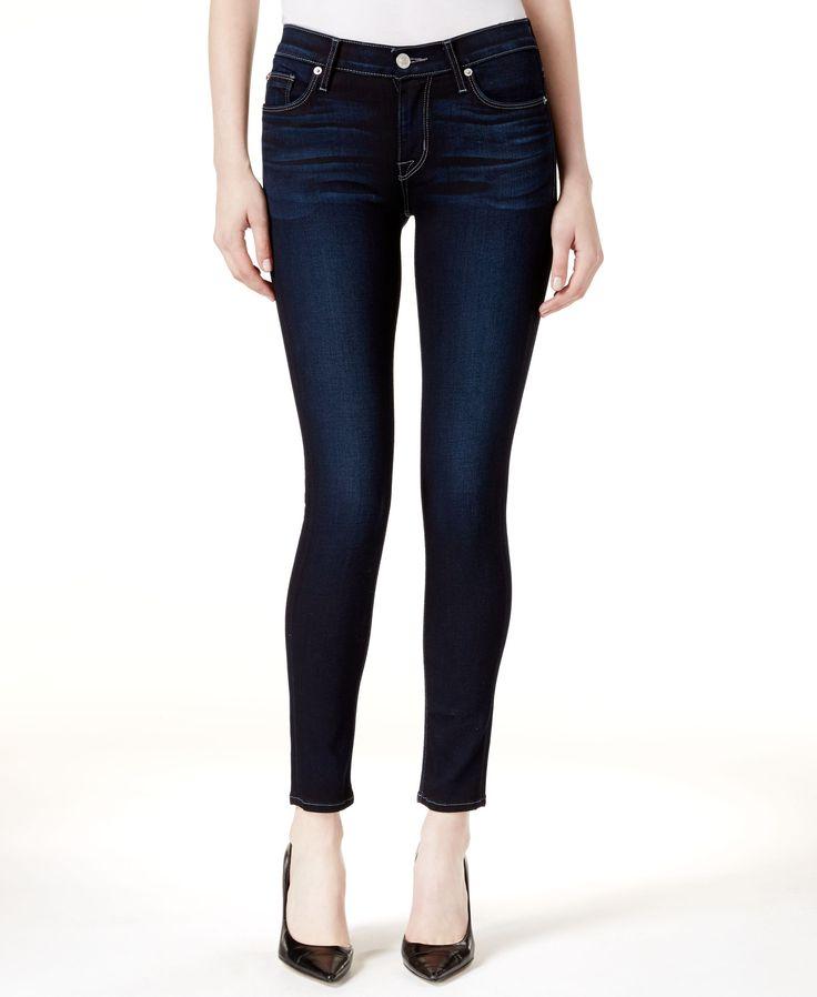 Hudson Jeans Nico Ripped Super Skinny Jeans, Apocalypse Wash