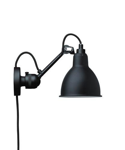 Epic CA Vegglampe Svart Lampe Gras