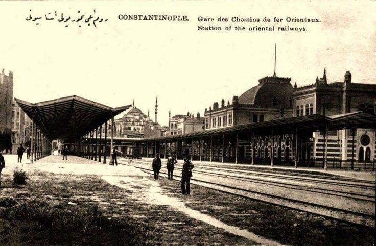 Sirkeci train station, Istanbul