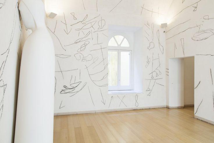 Mimmo Paladino, Senza titolo, 2005. Museo Madre, Napoli. Photo (C) Amedeo Benestante