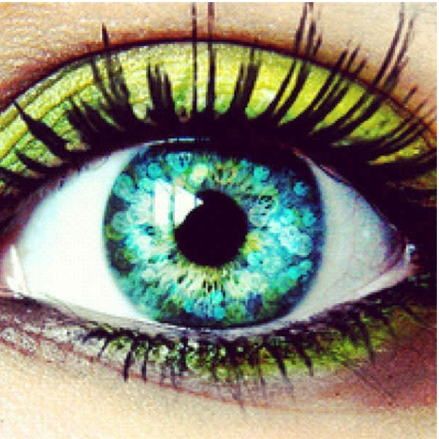 Eyes! So pretty :)