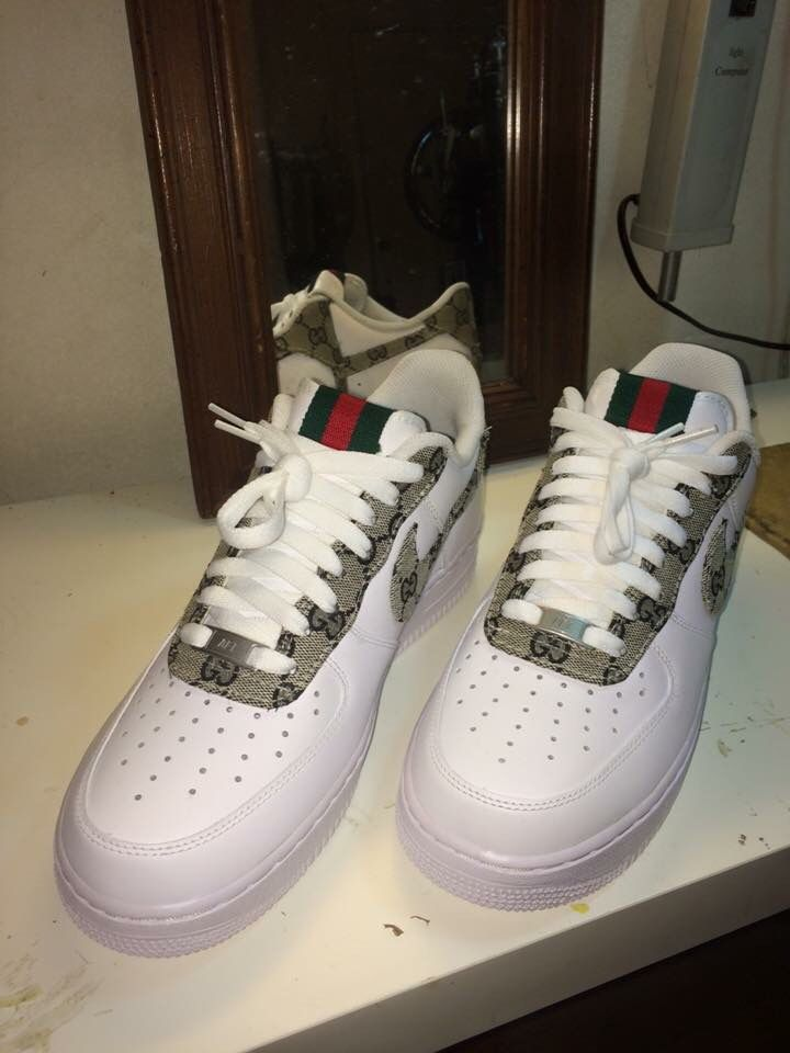 30c2b412982 Nike Air Force 1 Gucci