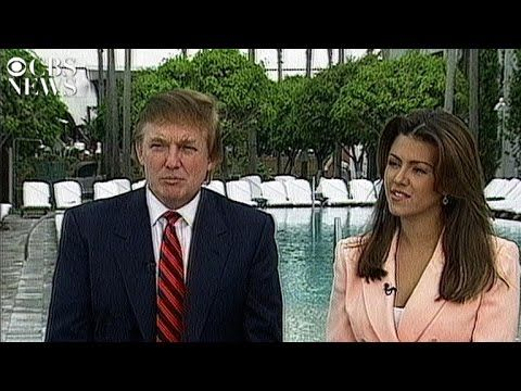 ALICIA SAID ALL WOMEN HAVE PROBLEM -Donald Trump and Alicia Machado's 1997 interview with CBS News
