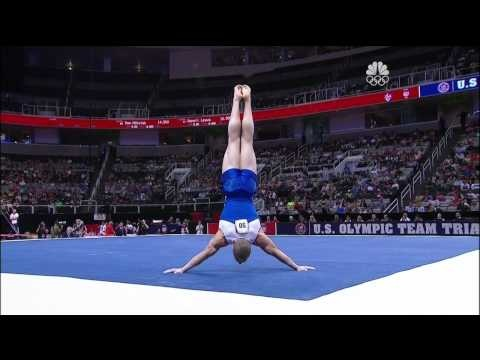 Steven Legendre -  Floor Olympic Trials - may favorite routine last night. This guy has sick tumbling