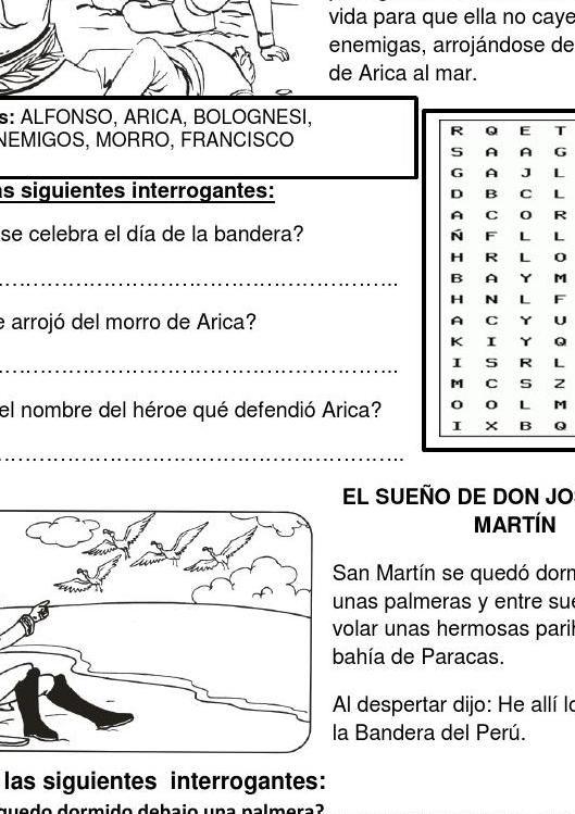 #ClippedOnIssuu from LA BANDERA DEL PERU FICHA DE APLICACION PARA EL SEGUNDO GRADO