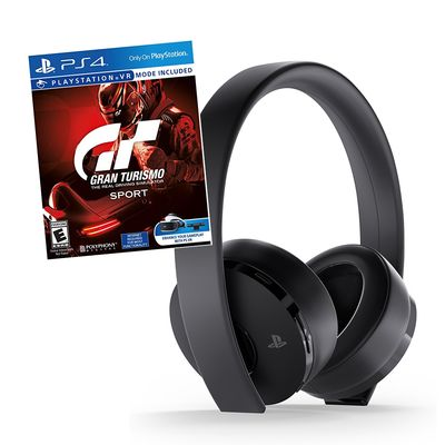 Sony PlayStation Gold Wireless Headset   Gran Turismo Sport (PS4 VR) $99.99