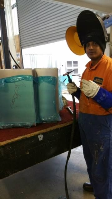 """""""Finding the right talent is the key. We will search the perfect candidate for you!"""" Just in! One of our Welder started working on his new job! His employer is very happy with his work! Good job!"""