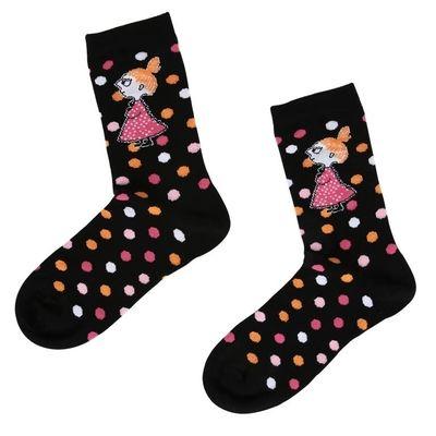 Muumi Naisten sukat, Pikku Myy&pallot, musta koko 39-41 - 5.90 €
