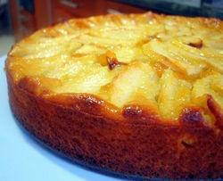 torta de manzanas al micro