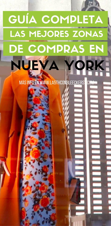[GUÍA] Mis zonas favoritas para ir de compras por Nueva York: con poca gente, buenos precios y sin moverte demasiado. #NuevaYork #NYC #Manhattan #NuevaYorkTurismo