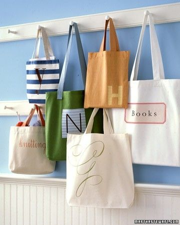 personalized tote by delores